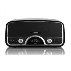 Lenco SR-05BT Retro Radio met Bluetooth Zwart