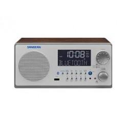 Sangean WR22 Retro Design Radio met Bluetooth