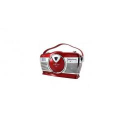 Soundmaster RCD1350RO Retro Radio met CD Speler en USB/SD Aansluiting Rood