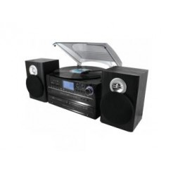 Soundmaster MCD4850 Muziek Center 33/45/78 RPM+ CD Brander + Opnamefunctie