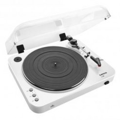 Lenco L-85 Wit Turntable met Direct MP3 encoding
