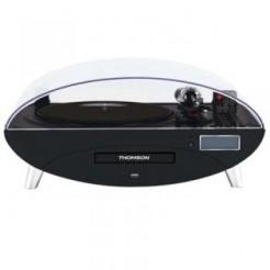 Thomson Ellipse TT400CD Zwart Platenspeler met USB, BT en CD