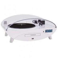 Thomson Ellipse TT401CD Wit Platenspeler met USB, BT en CD